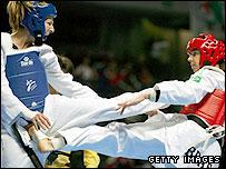 GB taekwondo star Sarah Stevenson