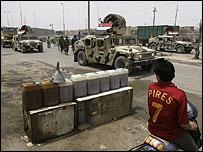 قوات عراقية تدخل مدينة الصدر