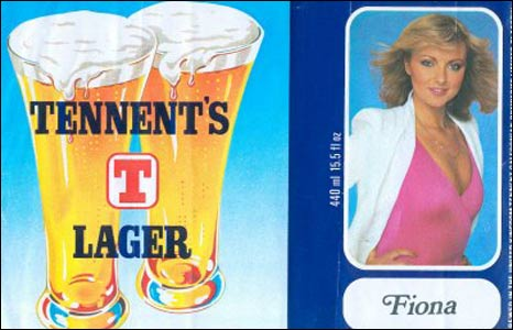 Tennent's Lager Lovely Fiona