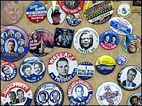 Chapas presidenciales