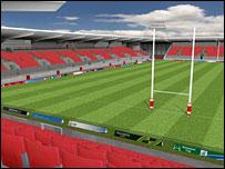 Llanelli Scarlets new stadium cost �23m