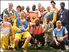 Winners Team United Birmingham and Centre Spot