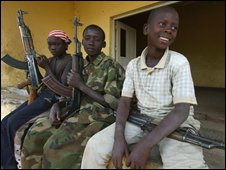 Child soldiers in DR Congo