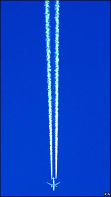 Aeroplane over London (PA)