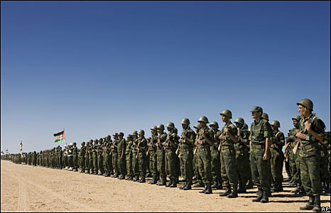 Polisario Front soldiers in Tifariti, 20 May 2008