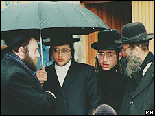 Orthodox Hasidic Jews in London
