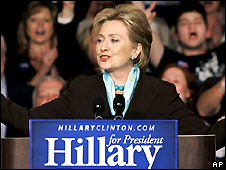 Hillary Clinton in Louisville, Kentucky - 20/5/2008