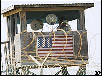 Torre de vigilancia en Guant�namo