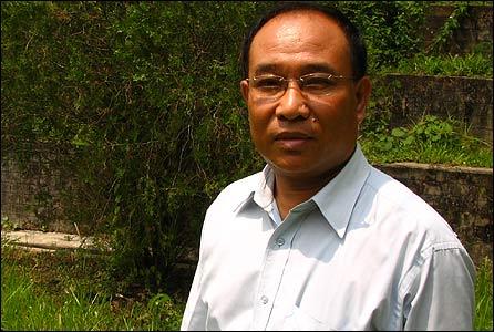 Divisional Forestry officer Shri PR Marak