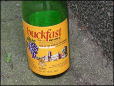 Buckfast bottle