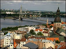 Riga, Latvia (BBC photo)