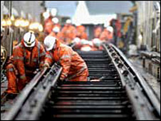 Track work - Pic: Network Rail