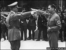 Hitler and Hess (1938)