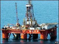Plataforma petrolera china