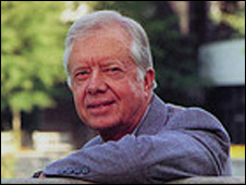 Jimmy Carter ( Picture: Rick Diamond)