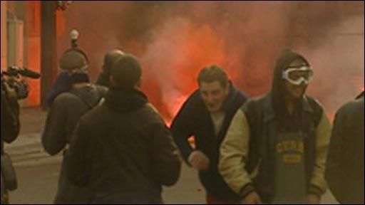 Fishermen riots