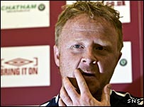 Hearts interim manager Stevie Frail