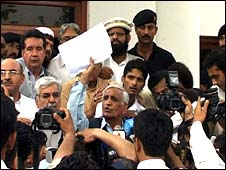 The deal is announced in Peshawar, 21 May 2008