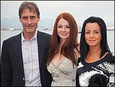 Roland Joffe (left) with taTu