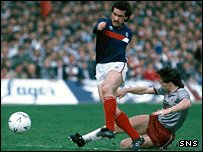 Albert Kidd nets for Dundee at Dens Park