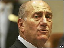 Israeli PM Ehud Olmert 21-05-2008