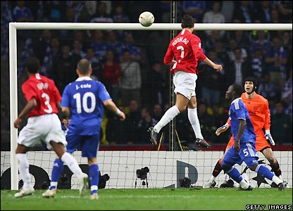 Qui va gagné la Champions League 2008 ??? _44678330_ronaldo4_getty416