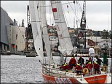 The Hull & Humber round-the-world yacht