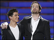 David Archuleta and David Cook