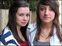 Helen and Becca