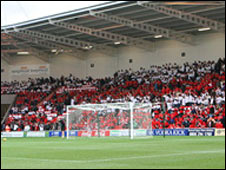 Internal picture of Keepmoat Stadium