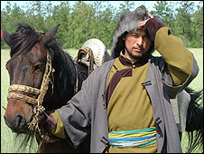Eduard Ondar as Genghis Khan