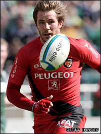 Toulouse number eight Shaun Sowerby