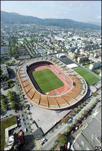 Letzigrund Stadium in Zurich, Euro 2008 venue