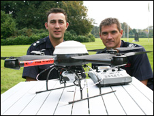 The microdrone with Peter Howard-Jones and Huw Jakeway