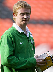 Celtic midfielder Barry Robson