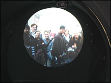 "The view through the ""Telectroscope"""