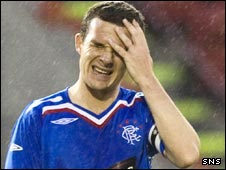 Rangers' captain Barry Ferguson