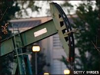 Pozo petrolero.