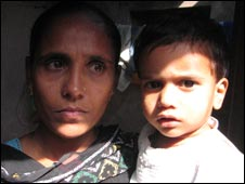 Shakila Bano, a Muslim resident of Gujarat who lost several family members in the riots (Pic: Geeta Pandey)