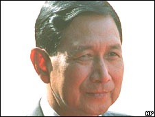 Gen Maung Aye in New Delhi on 17 November 2000