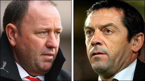 Bristol City boss Gary Johnson and Hull's Phil Brown go head-to-head at Wembley