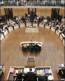 Germany's Bundesrat - file picture