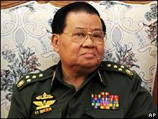 Gen Than Shwe, 23 May