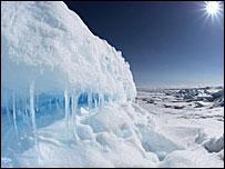 Таяние полярного льда