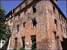 Sarajevo building