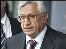 Antonio Fazio, former Bank of Italy governor