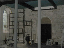 Inside Christ Church, Welshpool