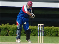 Japan cricketer at the WCL Division Five Tournament