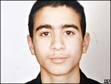 Omar Khadr (file image dated 2005)