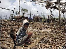Burma devastation